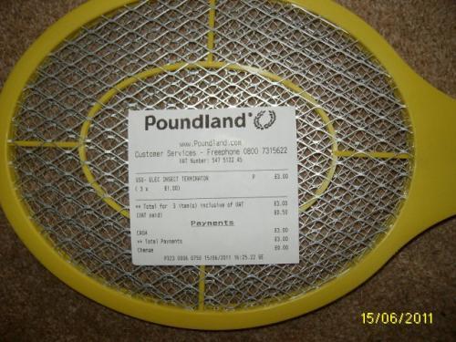 Electronic Fly Swats £1 @ Poundland