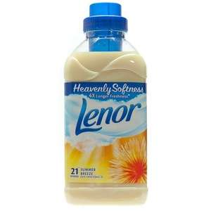 Lenor Spring or Summer breeze Fabric Conditioner 750ml ony 29p with coupon instore @ Sainsburys