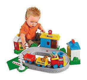 Fisher-Price Little People Pop N Surprise Train @ Argos Outlet Ebay Store £16.99+ £1.99P&P