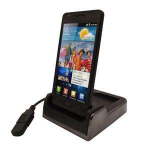 Samsung i9100 USB Desktop Charge & Sync Cradle / Docking Station & Spare Battery Charger@ 7dayshop