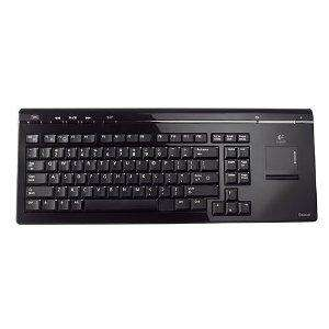 Amazon. Logitech Cordless MediaBoard PRO Keyboard & Mouse Pad TouchPad Touch Pad Built in , Wireless BLUETOOTH 2.0 , Designed For Playstation3 PS3 , works also with PCs equipped with Bluetooth , Perfect for HTPC Media Centre PCs , ITALIAN Layout £21.