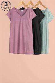 Next Maternity 3 pack of Tees @ Next sale online 50% off now £12.00 sizes  8 to 20 available