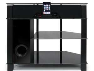 TV STAND, BUILT IN SPEAKERS, SUBWOOFER & IPOD DOCKING--------Ebay  3monkeys ( £69.99