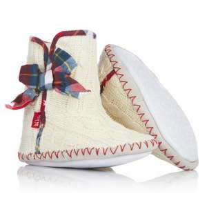 70% off FAT FACE girls slippers now £4.85 delivered next day using code ELECTRIC for further 10% @ surfdome.com +10% quidco