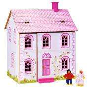 Little Steps Wooden Dolls House half price @Tesco Direct £20 del to store