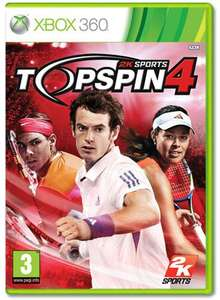 Top Spin 4 (Xbox 360 / PS3) - £14.99 @ Game / Gamestation