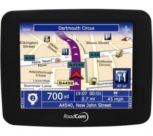 Roadcom RC410 GPS Sat Nav System  £24.97 @ Currys