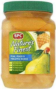 Natures Finest Peach, Pear And Pineapple 1Kg - Less than half price £1 @ Sainsbury's