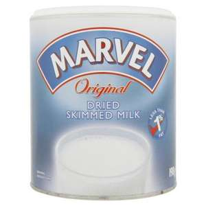 Marvel Dried Skimmed Milk 198g 99p @ 99p Stores