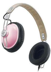 Panasonic RP-HTX7E-P Retro Style Headphones Pink RRP £56.99 Now £14.99 @Amazon.com
