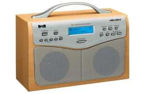 Bush NE-3120 Portable Digital DAB/FM Clock Radio £37.49 @ Argos