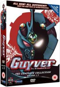 Guyver: The Bioboosted Armor - The Complete Collection (DVD) (Anime) - £6.85 @ Zavvi & The Hut