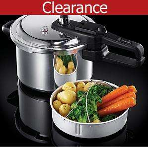 BACK IN STOCK - Russell Hobbs 4 litre pressure cooker - half price now  £15.00 Online @ Asda