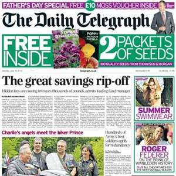Saturday newspaper offers - see post - Telegraph/ Sun/ Mirror/ Express/ Star