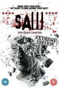 Saw: The Final Chapter DVD £6.99 @ Amazon