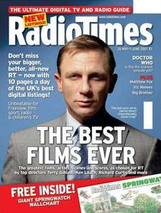 8 Issues of the Radio Times for just £1.00