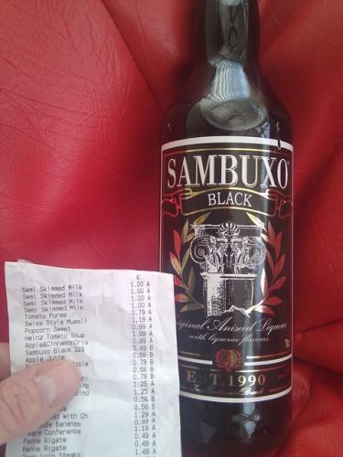 Black Sambuxo 70CL 22% VOL  £5.49 @  lidl