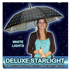 Starlight Double Sided Twilight Umbrella at Play.com £15.99 (plus 4% Quidco)