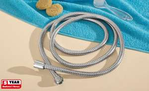 2M Stainless Steel cased Shower Hose £2.99 @ Lidl from 23/06/11