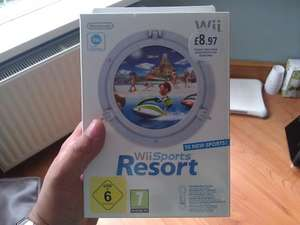 Wii Sports Resort with Motion Plus Sensor £8.97 @ PC World **INSTORE**