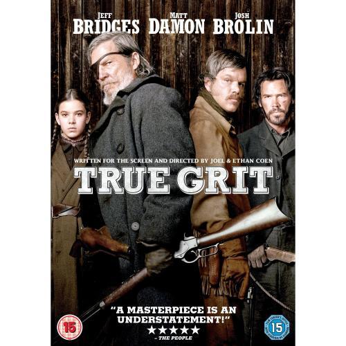 TRUE GRIT DVD EX RENTAL £5 INSTORE BLOCKBUSTER YEOVIL