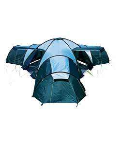 Pro Action Canberra 12 Man 3 Room Tent only £119.99 at argos