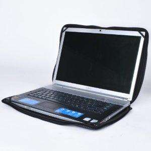 """Duronic LS37 10.2"""" Neoprene/Leather Laptop Pouch Sleeve for Notebooks upto 10.2 inch  £2.99 @ Amazon"""