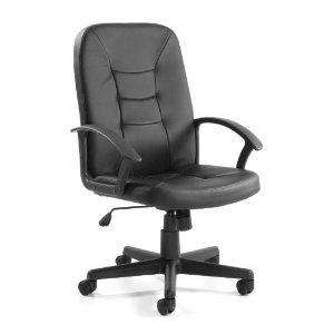 Rio Medium Back Black PU Office Chair 37.99 free delivery @ amazon.co.uk