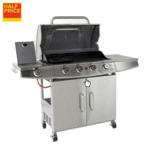 B&Q Blooma Seattle 4 Burner Gas Barbecue was £379 now £199