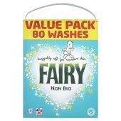 Fairy Nonbio Washing Powder 80 Wash at £10 at Tesco Stores