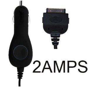 Car Charger for Apple iPad / iPad 2 / iPhone / iPod / iPhone 3G, 3GS / iPhone 4/ Nano / Touch- Black (2AMPS for High Power Charging & CE and ROHS Certified) - £1.29 Delivered @ Amazon Sold by PrePayMania