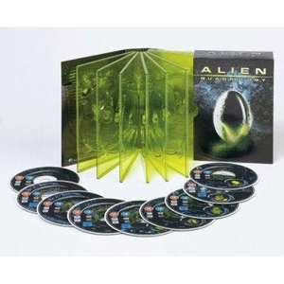 Alien Quadrilogy Box Set (9 Discs) for £8.99 @ Play.com