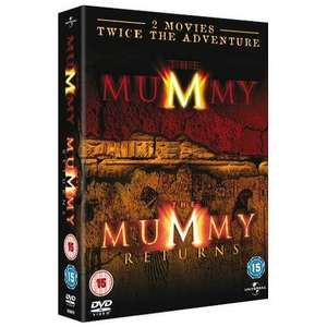 The Mummy (1999) / The Mummy Returns (2001) (2 Discs) - £2.99 Delivered @ Play