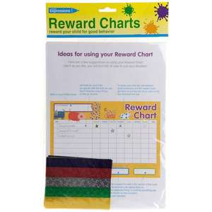 PACK OF FOUR REWARD CHARTS £1 @ POUNDLAND INSTORE