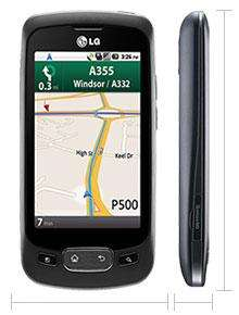 LG Optimus One Navigation Edition - £10.21 per month @ T-Mobile