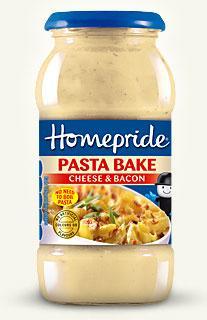 Homepride Cheese & Bacon Pasta Bake 10p @ Tesco