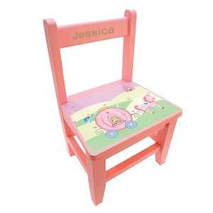 Girls Personalised Fairy Tale Wooden Chair Only Was£29.99 Now £11.99 @Studio