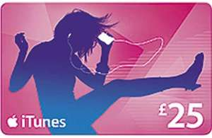 2 x iTunes £25 Gift Card - £40 - Instore Only @ Argos