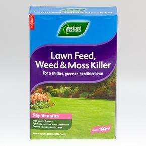 Westland Lawn Feed weed moss Killer (100sqm) £3.99 @ B&M Bargains