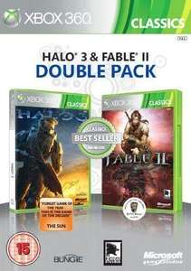 Halo 3 and Fable 2 Double Pack for Xbox 360 - £12 Instore @ HMV