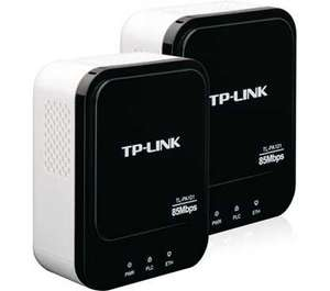 TP-Link TL-PA101 Starter Kit 85Mbps Powerline Ethernet AdapterTwin Pack £29.99 @ Amazon