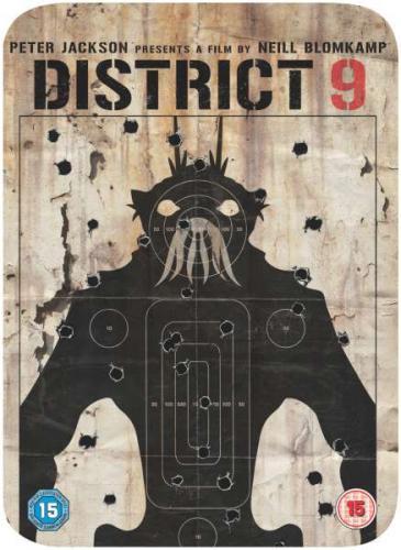 District 9 - Limited Steelbook Edition DVD - £3.85 Delivered @ Zavvi