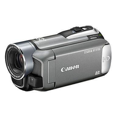 Canon Legia HF106 HD Camcorder Was £329 Now £40 - Debenhams