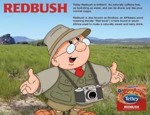 Free sample of Tetleys Redbush