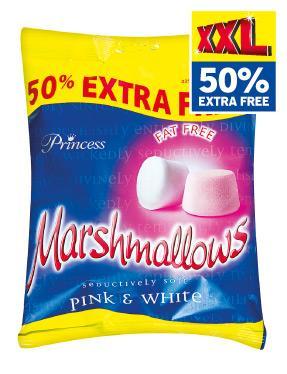 Princess Marshmallows - Big 225g bag 69p at Lidl