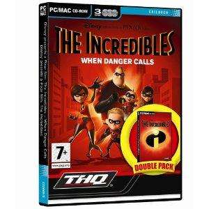 The Incredibles: Double Pack (MAC/PC CD) £1.95 sold by DVDGAMING DIRECT -  Fulfilled by  Amazon