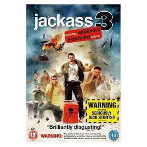 Jackass 3 dvd 6.99 @ amazon RIP RYAN DUNN