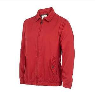 Mens red Harrington jacket - £13.20 with free delivery at Debenhams