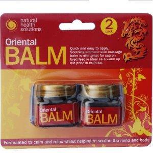 ORIENTAL BALM 2x 20g pots £1  instore@ Poundland