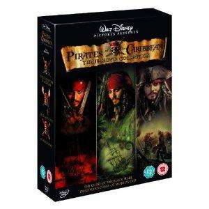 Pirates Of The Caribbean Trilogy £8.99 DVD @ Amazon & Play.com